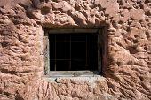 Window of jail