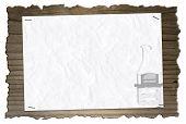 wooden board 001-130422