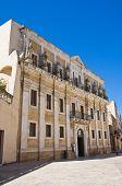 Seminary palace. Brindisi. Puglia. Italy.