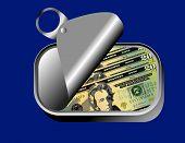 Sardine Can Of Dollars