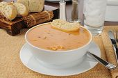 Creamy Chicken Gouda Bisque