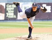 Scranton Wilkes Barre Yankees pitcher Adam Warren