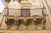 Carrozzo Palace. Lecce. Puglia. Italy.