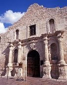 El Alamo, San Antonio, Texas, USA.
