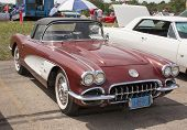 1960 Chevy Corvette Convertible
