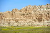 Badlands Scenic Formation