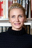 HUNTINGTON, NY - JAN 13: Cameron Diaz signs 'The Body Book: The Law of Hunger, the Science of Streng