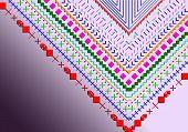 Multicoloured V