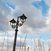 Metal Streetlamp