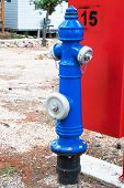 image of na  - Fire hydrant in the recreation center of Biograd na Moru, Croatia.