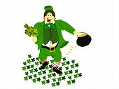 leprechaun clover ground