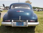 1947 Black Buick Eight Car Rear View