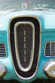 1958 Blue Edsel Citation Grill