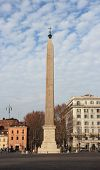 picture of obelisk  - The Lateran Obelisk is the tallest obelisk in Rome and the largest standing ancient Egyptian obelisk in the world - JPG