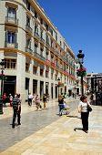 Main shopping street, Malaga.
