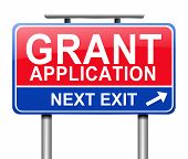 Grants Application.