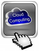 Button Cloud Computing with curso