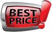 best price bargain and discount sale, low product price icon or red label. Bargain and sales offer.