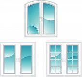 Plastic polymer windows