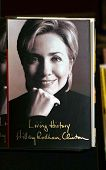 PASADENA - JUN 29: Hillary Rodham Clinton book at a book signing of 'LIVING HISTORY' by Hillary Rodh