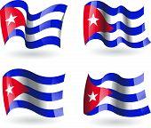 4 Flags of Cuba