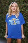 LOS ANGELES - JUN 18:  Jennifer Blanc at the Private LA Football League Summer Kickoff Suite featuri
