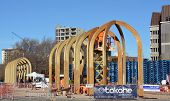 Christchurch Earthquake Rebuild - Arcades Project Takes Shape.