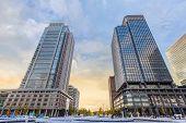 Marunouchi Business District in Tokyo Japan