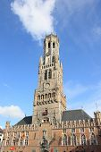the Belfort of Brugge in Belgium
