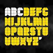 Alphabet. Vector.