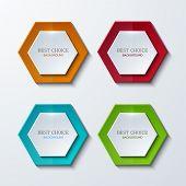 Vector moder banners element design.