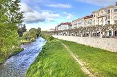 Spain. Burgos And The River Arlanzon