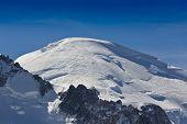 Mont Blanc Mountain Peak