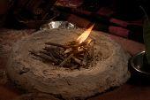 Indian Hindu traditional wedding havan (fire )