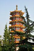 Qibao Temple Pagoda