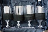Set Of Glass Jar