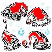 Tattoo Style Christmas Cap