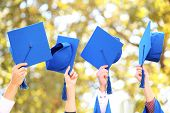 picture of graduation  - High school graduation hats high - JPG