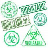 Biohazard Stamps