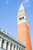 Campanile San Marco in Venice, Italy