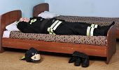 Sleeping Fireman