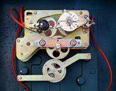 The Internal Mechanism Of Old Meter