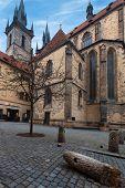 Street of old town Prague