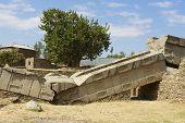 Aksum obelisks, UNESCO World Heritage site. Aksum, Ethiopia.