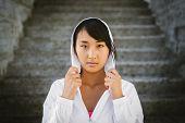 Motivated Asian Female Athlete