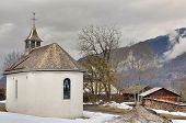 French Village With Chapel