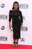 LOS ANGELES - NOV 23:  Uzo Aduba at the 2014 American Music Awards - Arrivals at the Nokia Theater on November 23, 2014 in Los Angeles, CA
