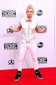LOS ANGELES - NOV 23:  Frankie Grande at the 2014 American Music Awards - Arrivals at the Nokia Theater on November 23, 2014 in Los Angeles, CA