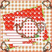 Invitation Tea Red