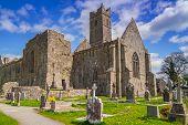 Quin abbey in Co. Clare, Ireland